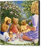 Afternoon Tea Canvas Print by Susan Rinehart