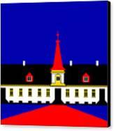 Agersboel Manor House Canvas Print by Asbjorn Lonvig