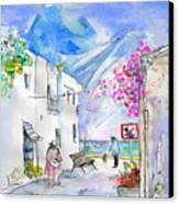 Agua Amarga 06 Canvas Print by Miki De Goodaboom