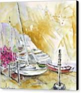 Agua Amarga 13 Canvas Print by Miki De Goodaboom