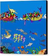 Agwe Canvas Print by Dimitri Beaulieu