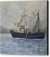 Alaskan Fishing Canvas Print by Reb Frost