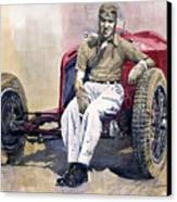Alfa Romeo Monza Tazio Nuvolari 1932 Canvas Print by Yuriy  Shevchuk
