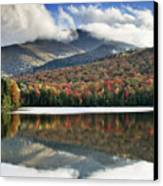 Algonquin Peak From Heart Lake - Adirondack Park - New York Canvas Print by Brendan Reals