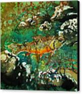 All About Trout Canvas Print by Sue Duda