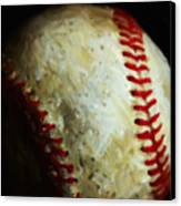 All American Pastime - Baseball - Painterly Canvas Print by Wingsdomain Art and Photography
