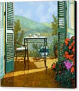 Alle Dieci Del Mattino Canvas Print by Guido Borelli