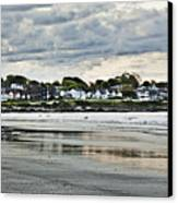 Along The Beach Canvas Print by Joel P Black