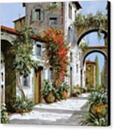Altri Archi Canvas Print by Guido Borelli