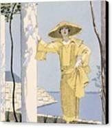 Amalfi Canvas Print by Georges Barbier