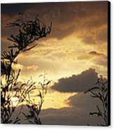 Amber Sky Canvas Print by Glenn McCarthy Art and Photography