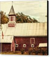 Americana Barn Canvas Print by Lisa Russo