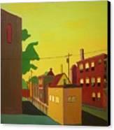 Amory Street Jamaica Plain Canvas Print by Debra Robinson