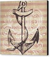 Anchor Canvas Print by Adrienne Stiles