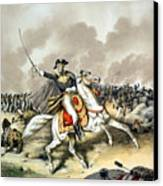 Andrew Jackson At The Battle Of New Orleans Canvas Print by War Is Hell Store