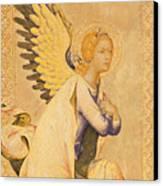 Angel Gabriel  Canvas Print by Simone Martini