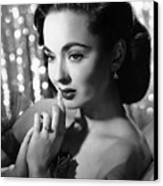 Ann Blyth, Ca. 1950s Canvas Print by Everett