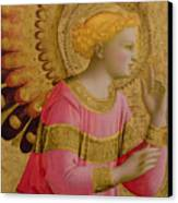 Annunciatory Angel Canvas Print by Fra Angelico