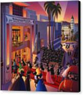 Ants Awards Night Canvas Print by Robin Moline