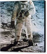 Apollo 11: Buzz Aldrin Canvas Print by Granger