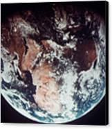 Apollo 11: Earth Canvas Print by Granger