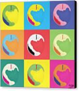 Apple 22 Canvas Print by Flo Ryan