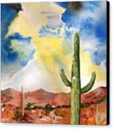 Approaching Monsoon Canvas Print by Sharon Mick