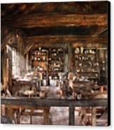 Artist - Potter - The Potters Shop  Canvas Print by Mike Savad