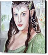 Arwen Canvas Print by Mamie Greenfield