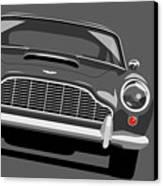 Aston Martin Db5 Canvas Print by Michael Tompsett