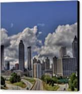 Atlanta Skyline Canvas Print by Corky Willis Atlanta Photography