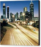 Atlanta Skyline Canvas Print by Jason Vanhoy