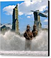 Atlantis Canvas Print by Brian Roscorla