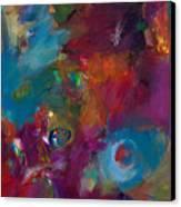 Aubergine Mist Canvas Print by Johnathan Harris