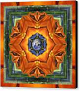 Aura Bamboo Canvas Print by Bell And Todd