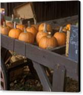 Autumn Farmstand Canvas Print by John Burk