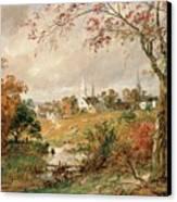 Autumn Landscape Canvas Print by Jasper Francis Cropsey