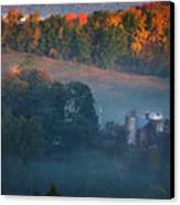 Autumn Scenic - West Rupert Vermont Canvas Print by Thomas Schoeller
