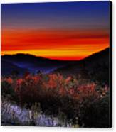 Autumn Sunrise Canvas Print by William Carroll