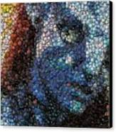 Avatar Neytiri Bottle Cap Mosaic Canvas Print by Paul Van Scott