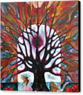 Awakening Canvas Print by Wojtek Kowalski