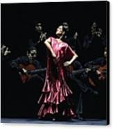 Bailarina Orgullosa Del Flamenco Canvas Print by Richard Young