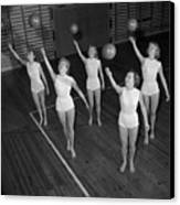Ball Ballet Canvas Print by Firth