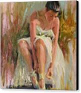 Ballerina Canvas Print by David Garrison