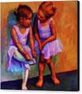 Ballerina Secrets Canvas Print by Jeanne Young