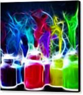 Ballet Of Colors Canvas Print by Pamela Johnson