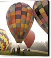 Balloon Day Is A Happy Day Canvas Print by Rob Travis