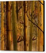 Bamboo Heaven Canvas Print by Bedros Awak