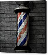 Barber Pole Blues  Canvas Print by JC Photography and Art