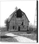 Barn 10 Canvas Print by Joel Lueck